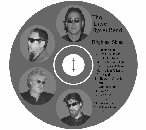 The Dave Ryder Band CD Label
